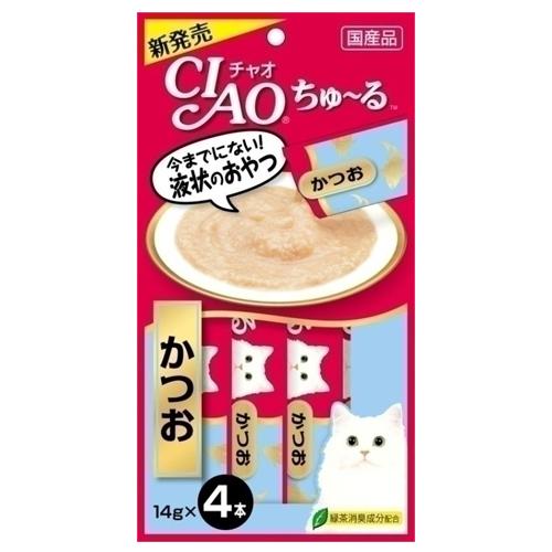 いなば CIAO ちゅ~る かつお 14g 4本 4SC-72