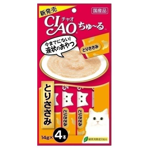 いなば CIAO ちゅ~る ささみ 14g 4本 4SC-73