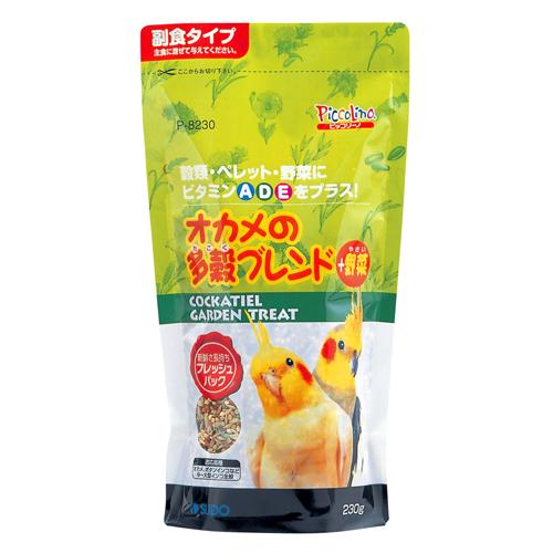 スドー 小動物(フード・用品) オカメの多穀ブレンド+野菜 230g