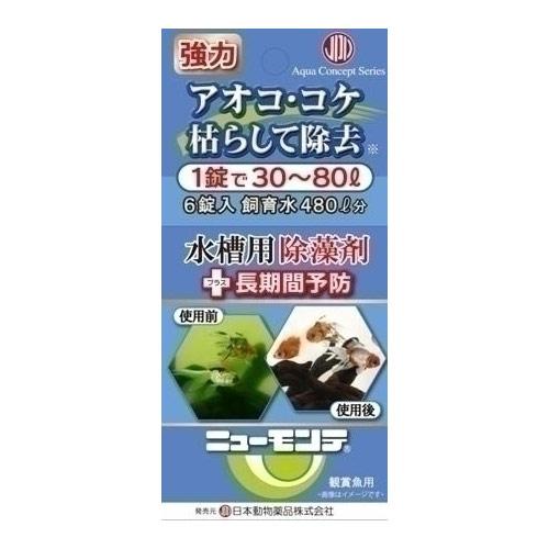 ニチドウ 小動物(フード・用品) アオコ除去剤 ニューモンテ フック式 6錠