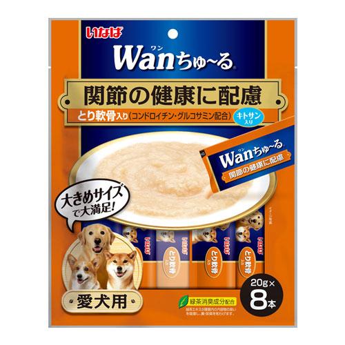 いなば wan ちゅ~る 関節の健康に配慮 とり軟骨入 20g×8本 TDS-11
