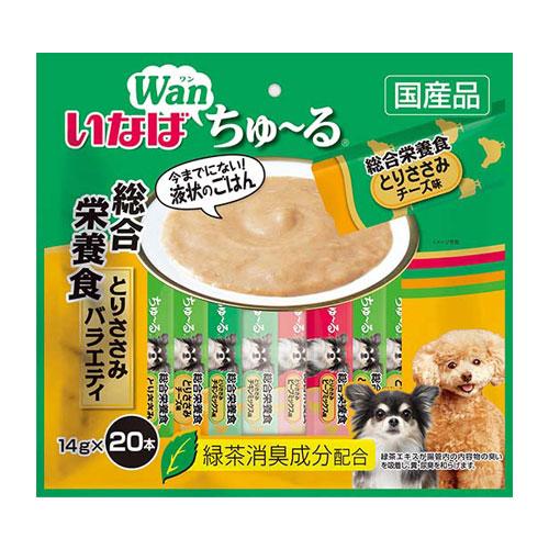 いなば wan ちゅ~る 総合栄養食バラエティ 14g×20本 DS-130