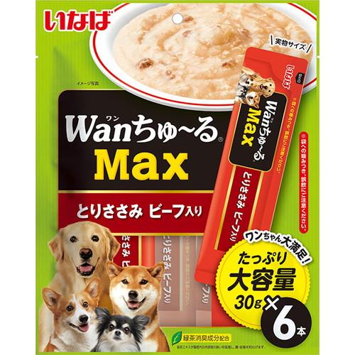 いなば wanちゅ~るMax とりささみ ビーフ入り 30g×6本入 TDS-21