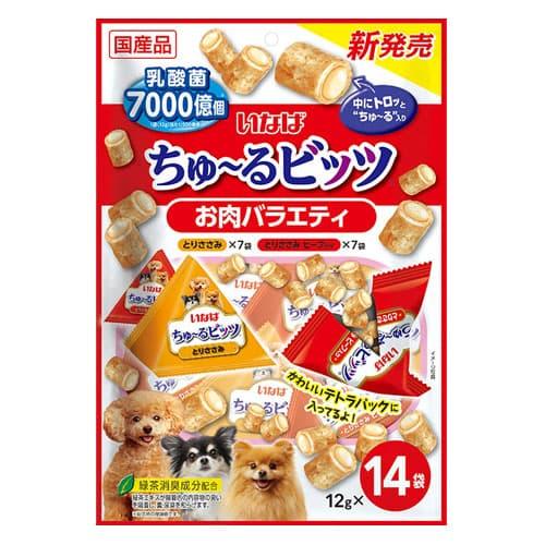 いなば ちゅ~るビッツ お肉バラエティ 12g×14個入 DS-324