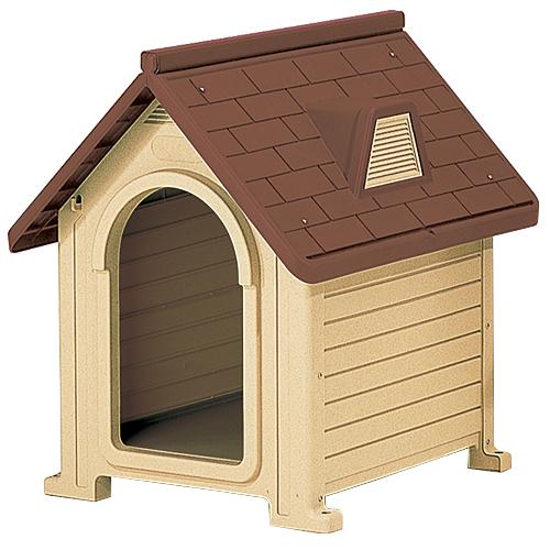 リッチェル 犬小屋 ペットハウス ブラウン DX-580