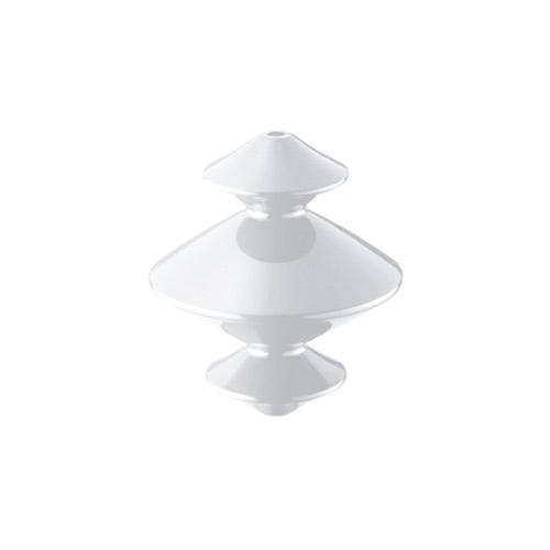 アートワークスタジオ 照明器具部品 Cable case Rook (ケーブルケースルーク) 菱形 ホワイト BU-1136WH