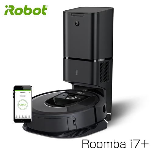 iRobot ロボット掃除機 ルンバ i7+ クリーンベース付 Wi-Fi対応 Alexa対応 I755060