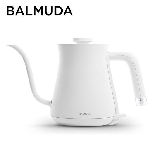 バルミューダ 電気ケトル ステンレス製 600ml ホワイト K02A-WH