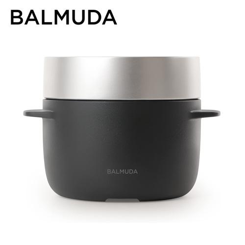 バルミューダ 電気炊飯器 3合炊き ブラック K03A-BK