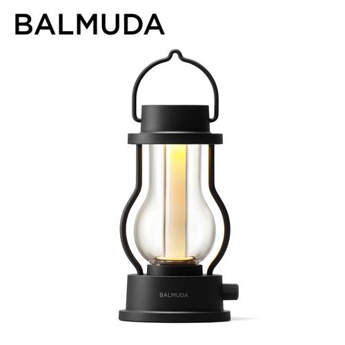バルミューダ ポータブルLEDランタン ブラック L02A-BK