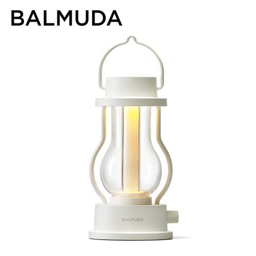 バルミューダ ポータブルLEDランタン ホワイト L02A-WH