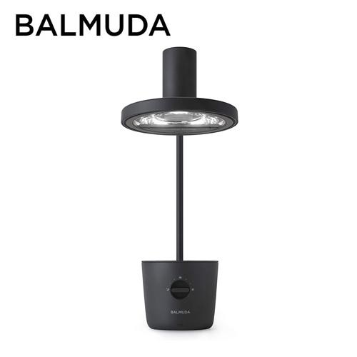 バルミューダ LEDデスクライト ブラック L01A-BK