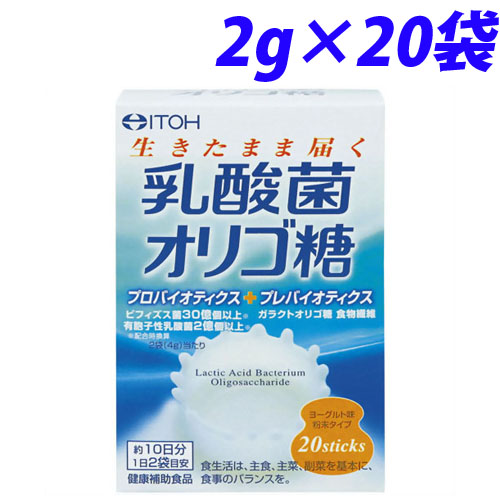 井藤漢方製薬 乳酸菌オリゴ糖 2g 20袋