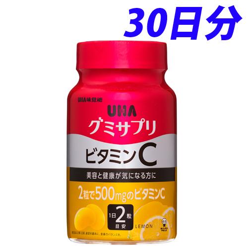UHA味覚糖 グミサプリ ビタミンCボトル 30日分