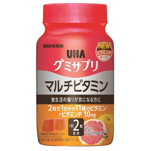 UHA味覚糖 グミサプリ マルチビタミンボトル 30日分