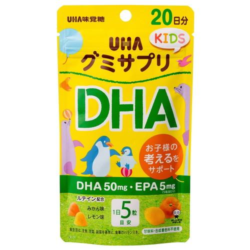 UHA味覚糖 グミサプリKIDS DHA 20日分
