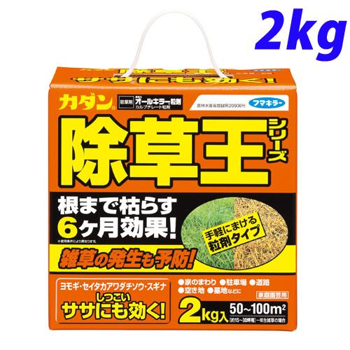 フマキラー カダン 除草王シリーズ オールキラー 粒剤 2kg
