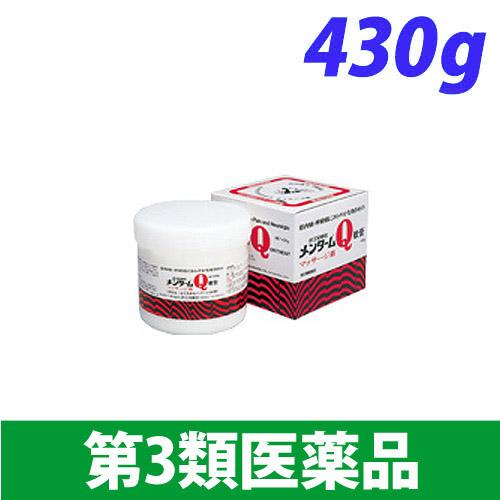 【第3類医薬品】近江兄弟社 メンターム Q軟膏 業務用 430g