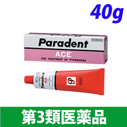 【第3類医薬品】ライオン パラデントエース 40g