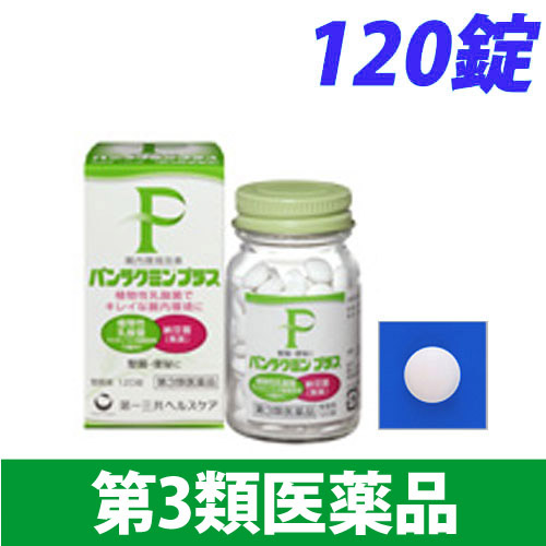 【第3類医薬品】第一三共ヘルスケア パンラクミン プラス 120錠