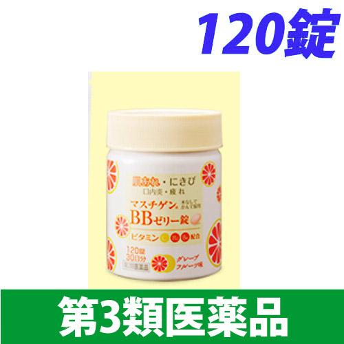 【第3類医薬品】日本臓器製薬 マスチゲン BBゼリー錠 120錠