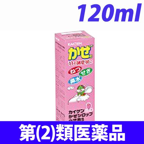 【第(2)類医薬品】カイゲンファーマ カイゲン カゼシロップ小児用S 120mL