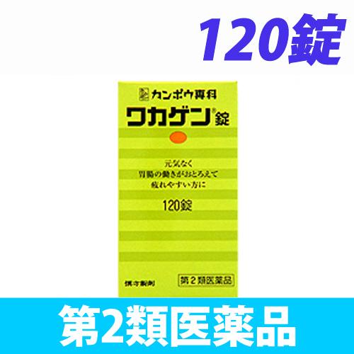【第2類医薬品】クラシエ薬品 ワカゲン錠 120錠