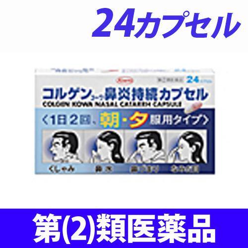 【第(2)類医薬品】興和新薬 コルゲンコーワ 鼻炎持続カプセル 24カプセル
