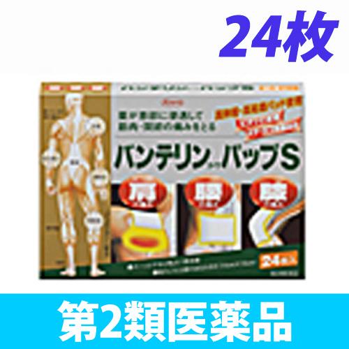 【第2類医薬品】興和新薬 バンテリンコーワ パップS 24枚