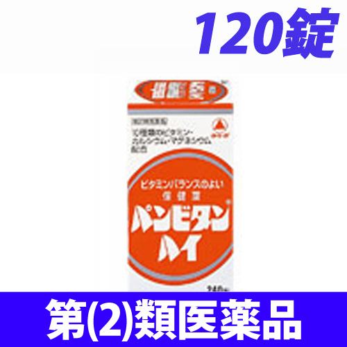 【第(2)類医薬品】武田薬品工業 パンビタンハイ 120錠