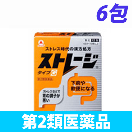 【第2類医薬品】武田薬品工業 ストレージ タイプG 6包
