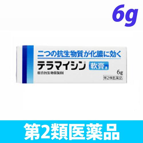 【第2類医薬品】ジョンソン&ジョンソン テラマイシン 軟膏a 6g