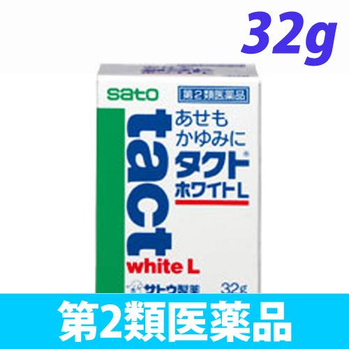 【第2類医薬品】佐藤製薬 タクト ホワイトL 32g