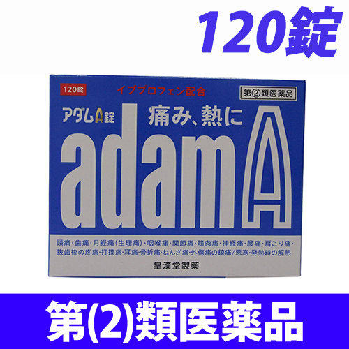 【第(2)類医薬品】皇漢堂製薬 アダムA錠 120錠