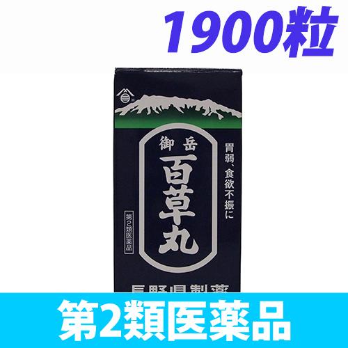 【第2類医薬品】長野県製薬 御岳百草丸 1900粒