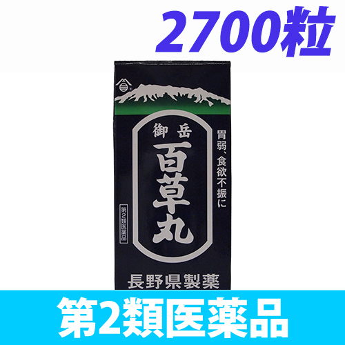 【第2類医薬品】長野県製薬 御岳百草丸 2700粒