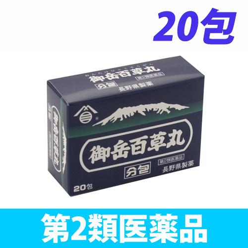 【第2類医薬品】長野県製薬 御岳百草丸 分包 20包