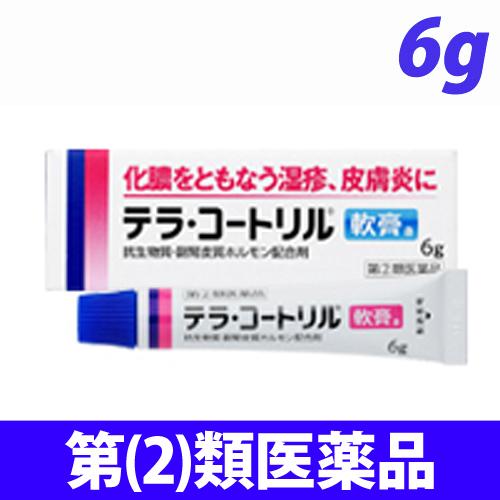 【第(2)類医薬品】ジョンソン&ジョンソン テラ・コートリル 軟膏 6g