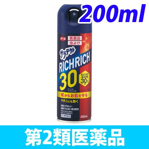 【第2類医薬品】アース製薬 サラテクト リッチリッチ30 200ml