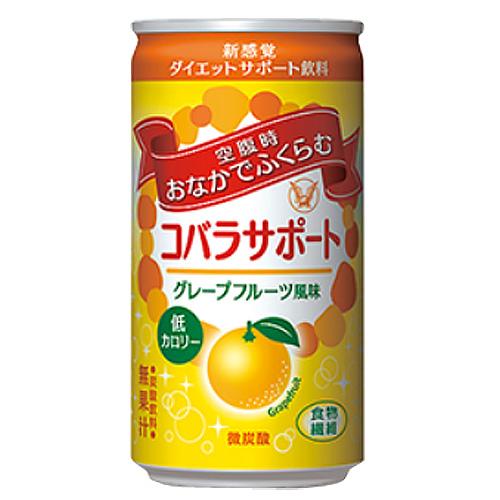 大正製薬 コバラサポート グレープフルーツ風味 185ml