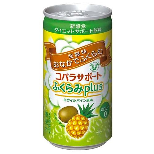 【医薬部外品】大正製薬 コバラサポート ふくらみPLUS キウイ&パイン風味 185ml