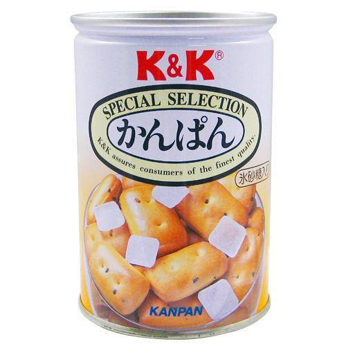K&K 保存缶 乾パン氷砂糖入り 110g