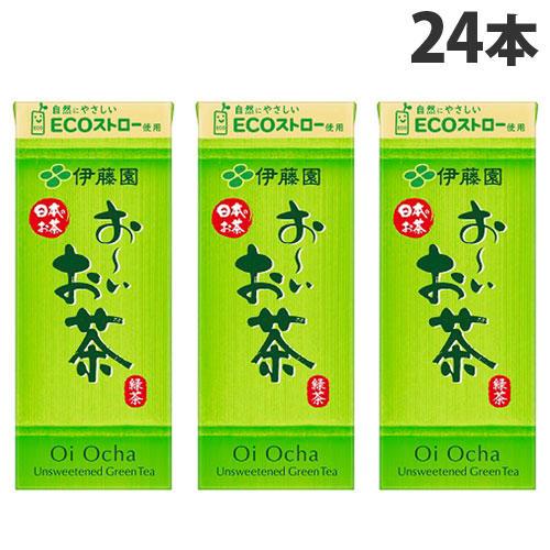 伊藤園 おーいお茶 テトラパック 250ml 24本