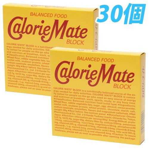 大塚製薬 カロリーメイト ブロック チョコレート味 81g 30個