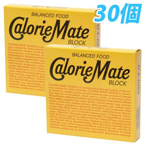 大塚製薬 カロリーメイト ブロック チーズ味 81g 30個