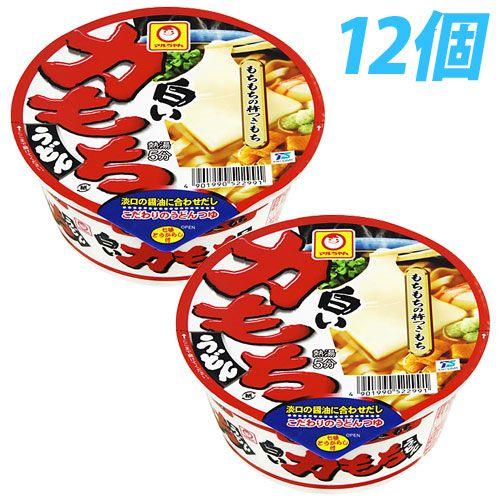 東洋水産 マルちゃん 白い力もちうどん(西むけ) カップ 109g 12個
