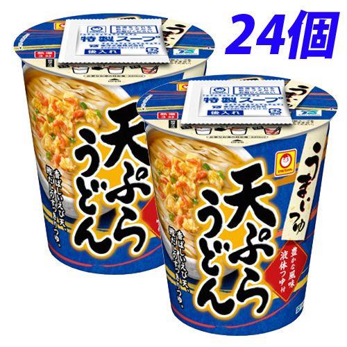 東洋水産 マルちゃん うまいつゆ 天ぷらうどん 68g 24個