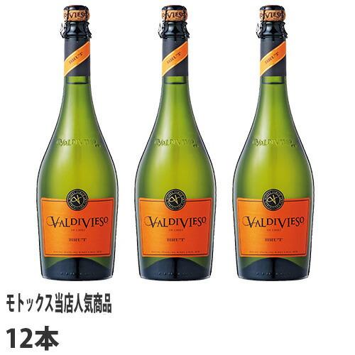 バルディビエソ スパークリングワイン バルディビエソ ブリュット 750ml 12本