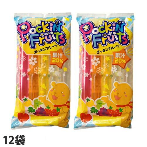 マルゴ食品 チューペット ポッキンフルーツ果汁20% 10本入 12袋