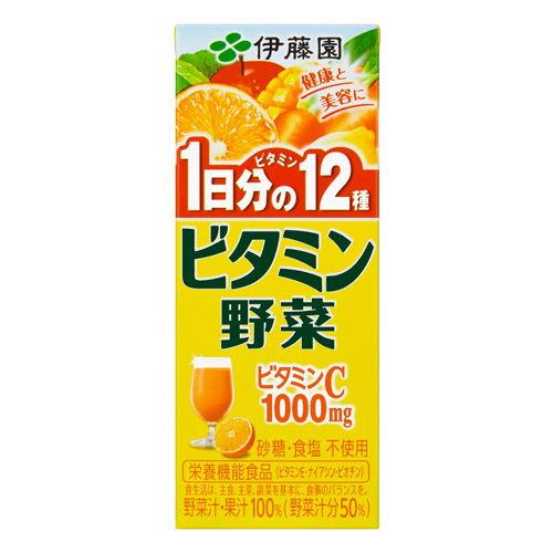 伊藤園 ビタミン野菜 200ml 24本